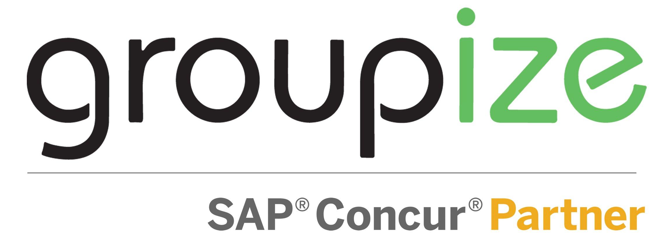 groupize concur partner logo